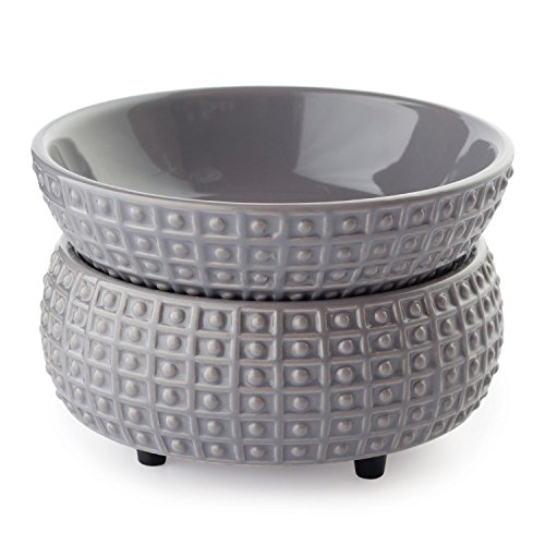 Ceramic 2-in-1 Classic Fragrance Warmer, Slate ()