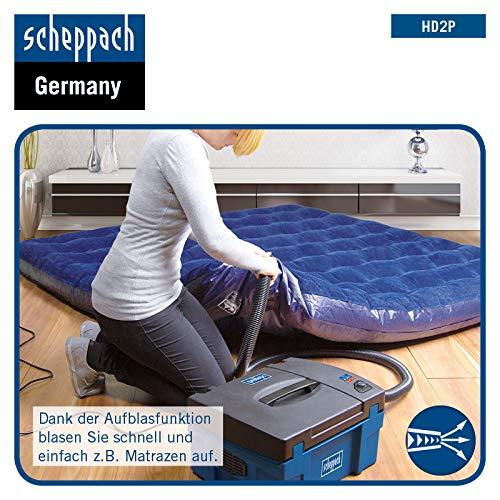 SCHEPPACH SET PL75 Tauchkreiss/äge mit F/ührungsschiene und 3in1 Absauganlage HD2P