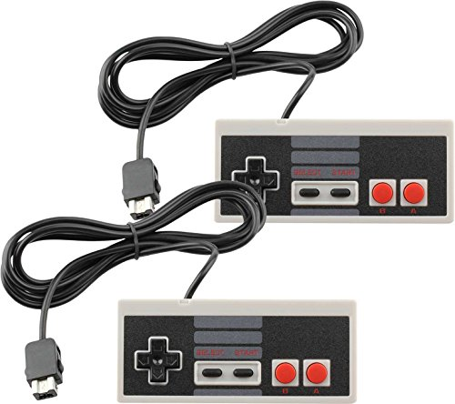 Wired Controller for Nintendo NES Classic Mini Edition Console (2-Pack)