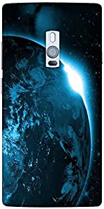 Snoogg Universe View Designer Protective Back Case Cover For One Plus Two