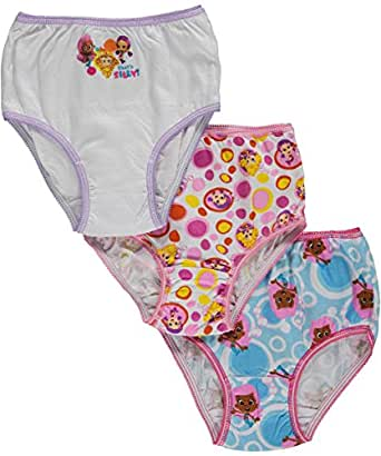 Bubble Guppies Toddler Girls 2t 3t 4t Underwear Panties Nickelodeon New (4T)