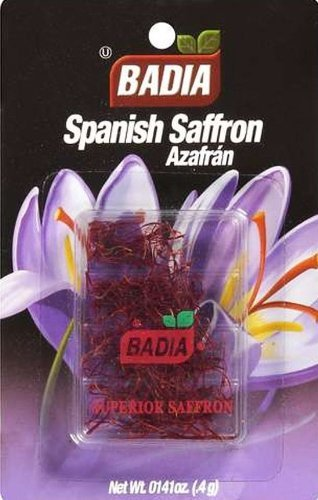Badia Spanish Saffron Spice, 0.4 Gram - 12 per case. - 12 per case. by Badia (Image #1)