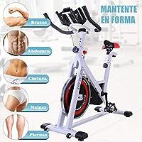 Homcom Bicicleta Estática de Spinning Bicicleta de Fitness ...