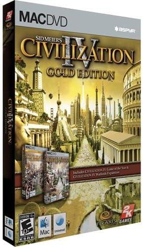 Amazon sid meiers civilization iv gold edition macintosh sid meiers civilization iv gold edition macintosh sciox Choice Image