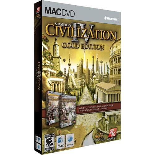 Sid Meier's Civilization IV Gold Edition - Macintosh