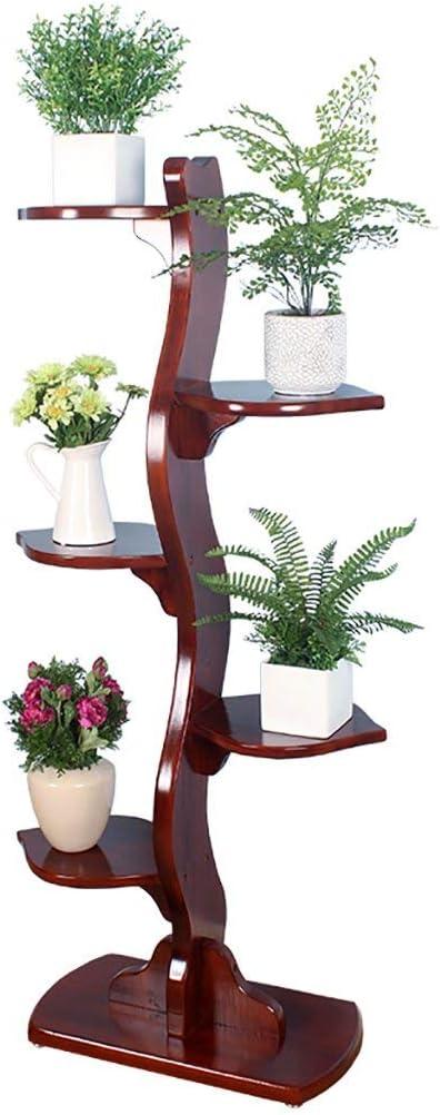 LLYU Estante de flores Soporte para Flores Bonsai Rack De Cinco ...