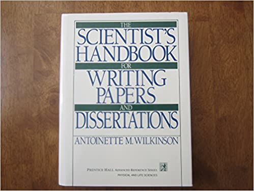 Scientist s handbook for writing papers and dissertations