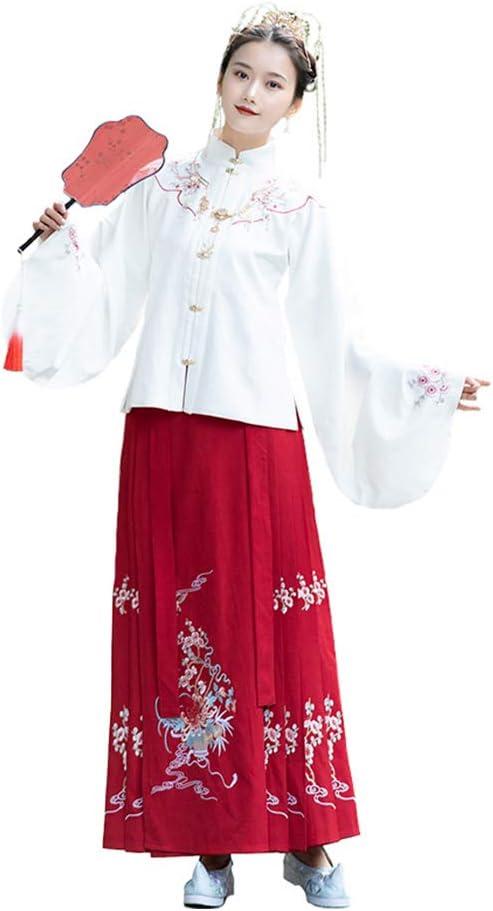 YCWY Vestido Chino Antiguo para Mujer, Traje de Cosplay de Hanfu ...