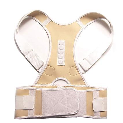 Male Female Adjustable Magnetic Posture Corrector Corset Back Brace Belt Lumbar Support Straight Corrector