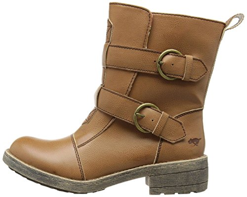 Rocket Dog Talisa Camel Neu Damen Buckle Strap Biker Boots