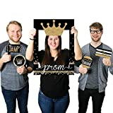 Big Dot of Happiness Prom - Prom Night Party Selfie Photo Booth Picture Frame & Props - Printed on Sturdy Material