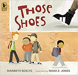 Image result for those shoes book