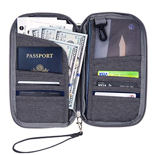 Blocking Passport Holder Travel Organizer Removable product image