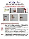 Addalock - (1 Piece ) The Original Portable Door