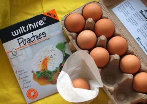 Wiltshire Poachies - 100 Egg Poaching Bags per Package