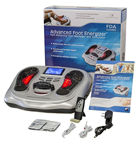 FDA Cleared Electrical Foot Stimulator with both TENS and EMS from Advanced Foot Energizer® by ADVANCED FOOT ENERGIZER