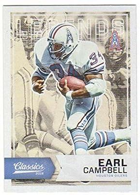2016 Classics Legends #192 Earl Campbell Oilers Football