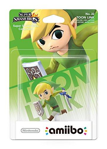 Toon Link No.22 amiibo (Nintendo Wii U/3DS) (Nintendo Toon Link Amiibo)