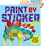 #10: Paint by Sticker Kids: Create 10 Pictures One Sticker at a Time