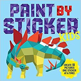 Buy Paint By Sticker Kids Book Online at Low Prices in India | Paint ...