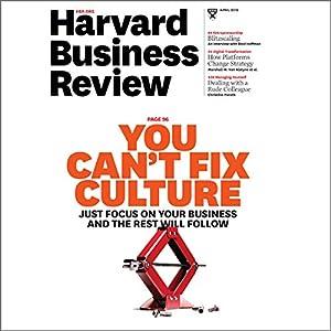 Harvard Business Review, April 2016 Periodical