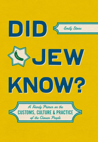 Did Jew Know?: A Handy Primer on the Customs, Culture & Practice of the Chosen People cover