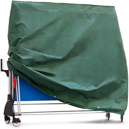 Purovi Schutzhülle Abdeckung für Tischtennisplatte aus Oxford Gewebe | 165 x 70 x 185 cm | Wasser und UV beständig