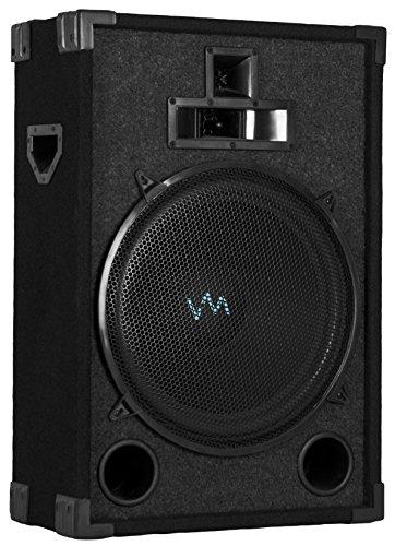 "New VM Audio VAS315P 1200 Watt 3 Way 15"" DJ Passive Loud Speaker System"