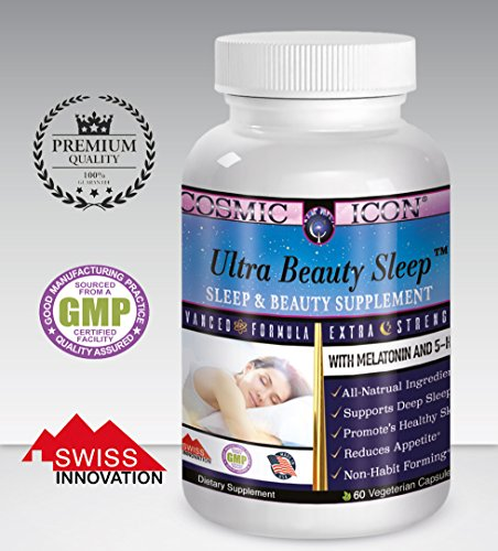 •Sleeping Beauty• Sleeping Pill + Beauty Vitamins with Melatonin + 5-HTP - Sleeping pills