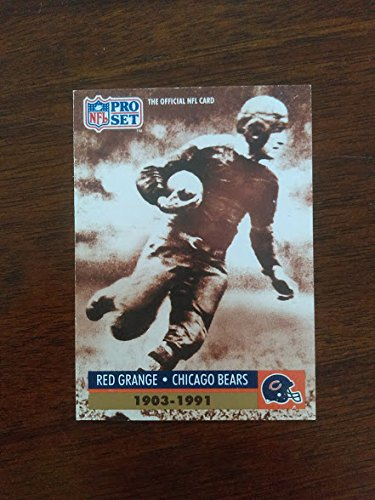 Grange Red Illinois - Red Grange - Chicago Bears / Illinois Illini / Galloping Ghost - 1991 Pro Set Special #2