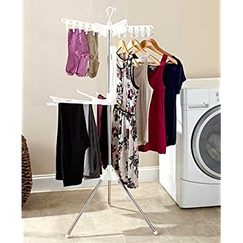 Amazon Com Collapsible Indoor Tripod Style Clothes Dryer