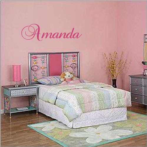 Custom Name Vinyl Decal Wall Sticker Word Letters Room Déco