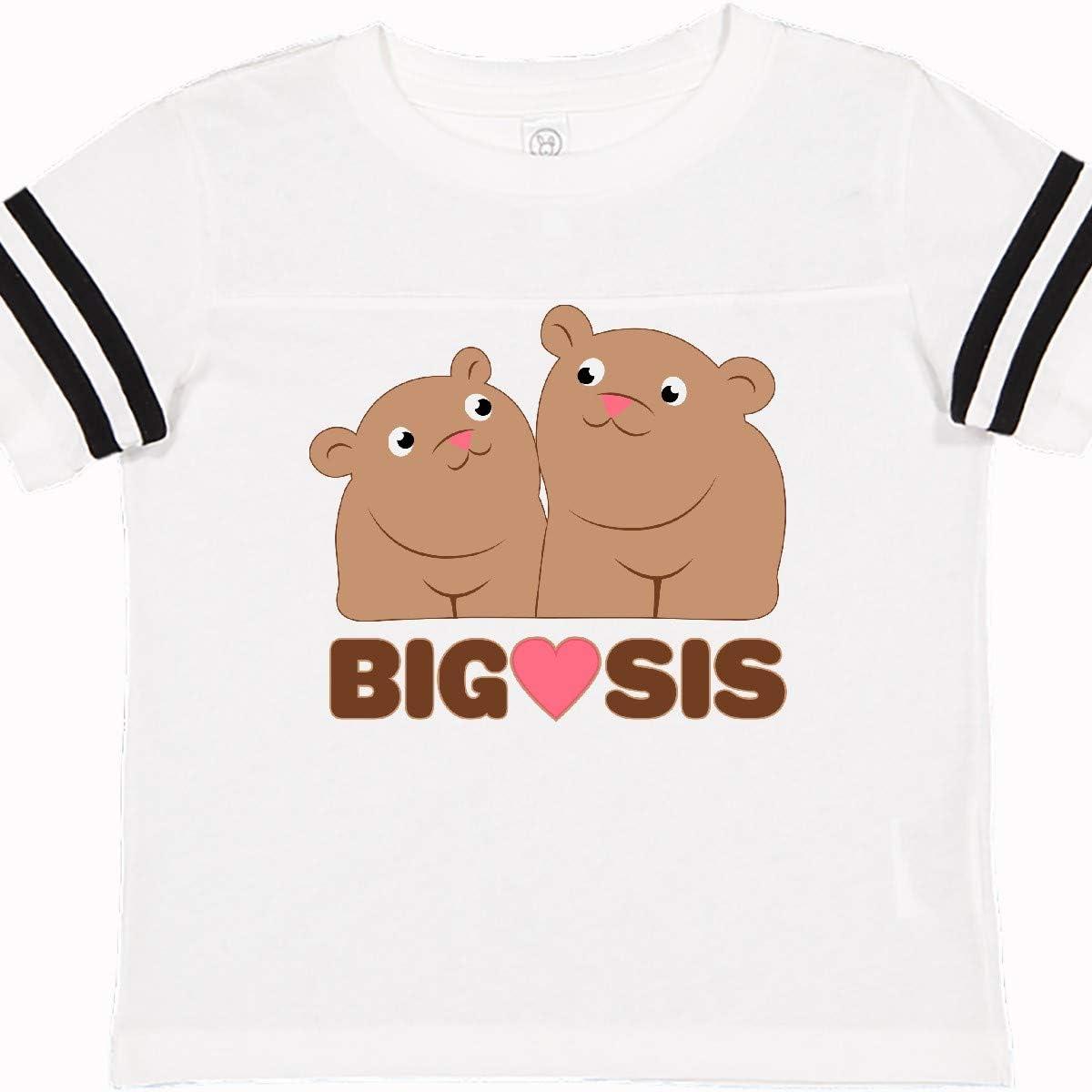 inktastic Big Sis Bears Toddler T-Shirt