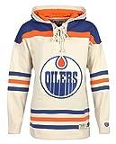 vintage hockey - Old Time Hockey NHL Edmonton Oilers Men's Vintage Lacer Heavyweight Hoodie, Large, Stone