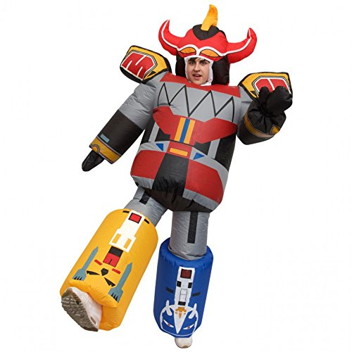 MorphCostumes Giant Megazord Power Rangers Inflatable Fancy Dress Costume ()