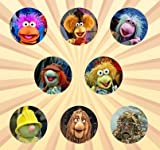 Fraggle Rock Set of 8 - 1 Inch Pinback Buttons