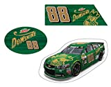 NASCAR #88 DALE JR. DEWSHINE THROWBACK CAR MAGNET 3 PC SET-DALE JR. 3 PC MAGNET SET NEWEST STYLE