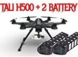 Tali H500 Carbon Fiber (USA) FPV Drone DEVO F12E G-3D Gimbal and iLook+ camera + Free Extra Battery Scorpion Drones Bundle