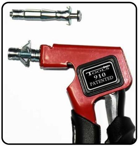 Heavy Duty Gun Hollow Gecko Expansion Screws Tighten Gun Plasterboard Fixing Setting Tool