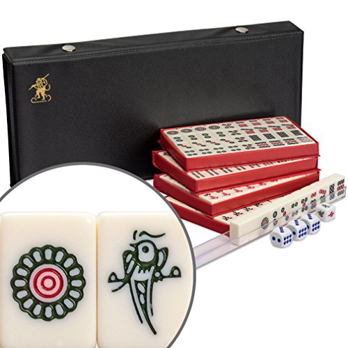 Chinese Mahjong (Mahjongg, Mah Jongg, Mah-Jongg, Majiang) Travel Game Set, ''The Mini'' by Yellow Mountain Imports