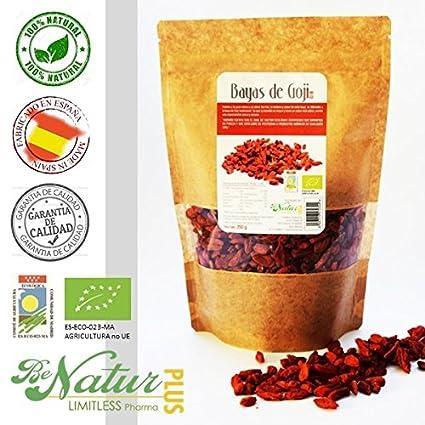 Bayas de Goji Bio BeNatur Plus – 100% Bayas de Goji de cultivo Ecológico de