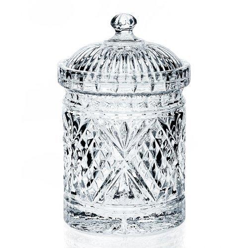 Godinger Dublin Biscuit - Canister Crystal