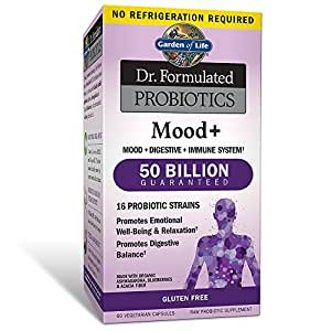 Garden of life probiotic and mood supplement dr formulated mood for digestive for Garden of life probiotics mood
