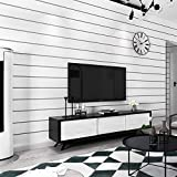 Nordic Minimalist Wallpaper Black and White Striped Living Room Bedroom TV Background Wall Wallpaper
