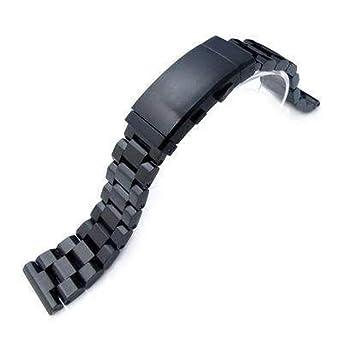 Strapcode 22mm Hexad Oyster 316L Correa de Reloj de Acero ...