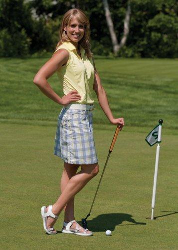 Sandbaggers Galia Women's Golf Sandals B00DZTWQE6 6 B(M) US|White