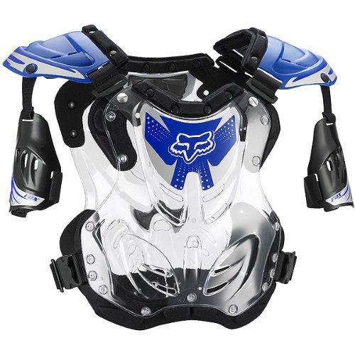 FOX R3 ROOST DEFLECTOR BLUE LG 155-210+ LB/5'8