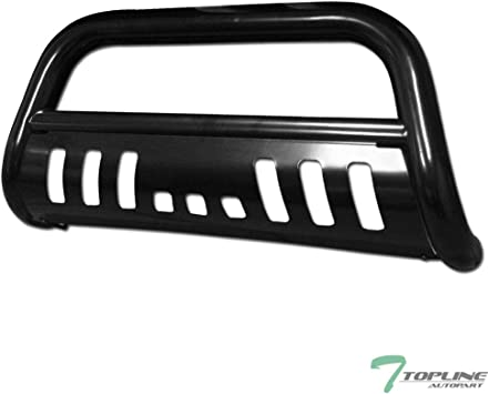 Relocation Kit For Chevy Suburban//Tahoe//Escalade 3 inches Chrome Bumper Push Bull Bar Skid Plate