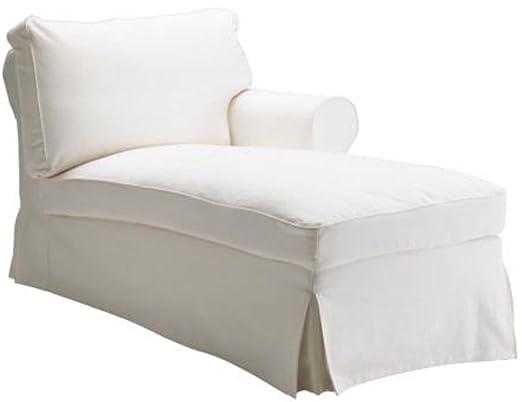 Custom Slipcover Replacement El Chaise Longue Ektorp Blanco ...