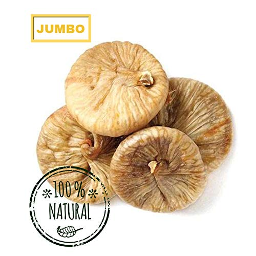 (Jumbo Dried Turkish Figs ready to eat resealable bag (2 LB))